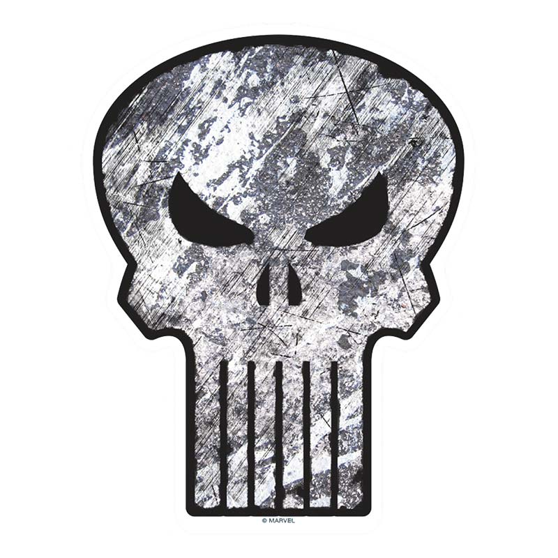 Punisher Comic Car Window Decal