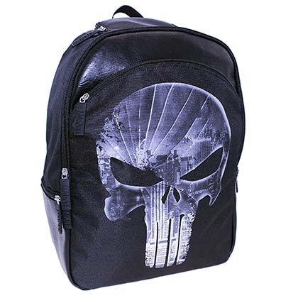 The Punisher Black Backpack