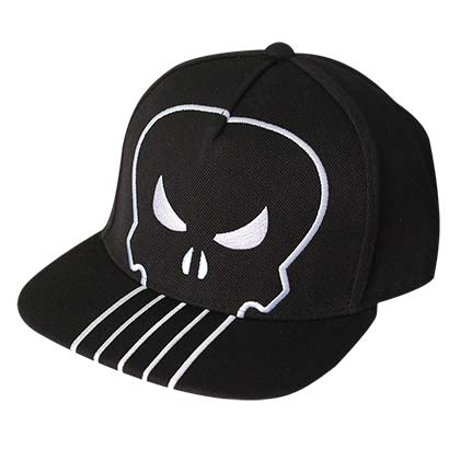 The Punisher Giant Logo Snapback Hat