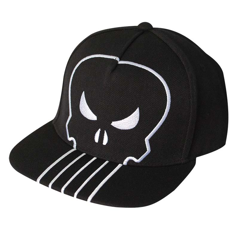 item was added to your cart. Item. Price. The Punisher Black Large Logo Snapback  Hat f5eb4709525