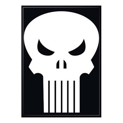 Punisher Comic Magnet