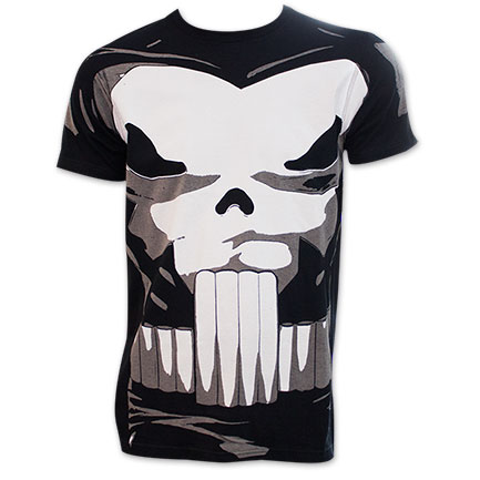 The Punisher Comic Book Costume Tee