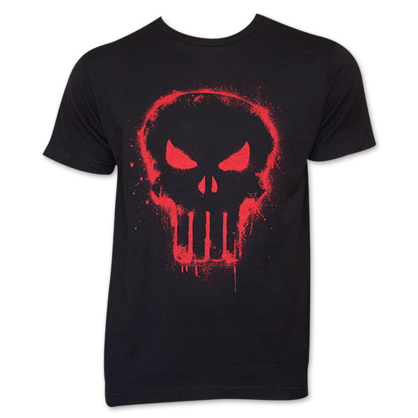 c8c0fa6c3f4cdf item was added to your cart. Item. Price. Red Skull Black Men's Punisher  Tee Shirt