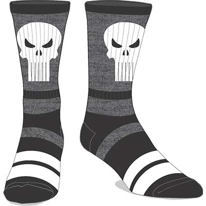 The Punisher Men's Varsity Crew Socks