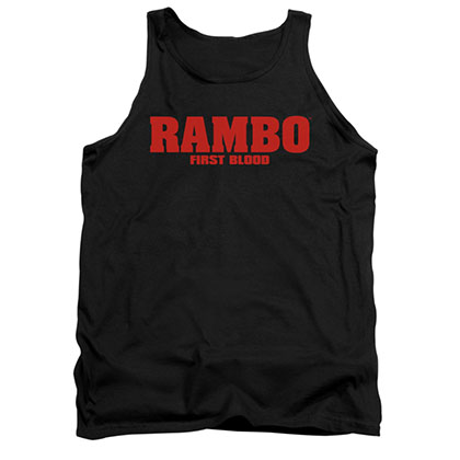 Rambo First Blood Black Tank Top