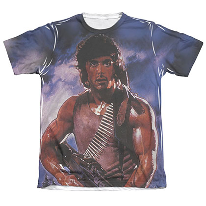 Rambo Drew First Sublimation T-Shirt