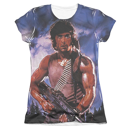 Rambo Drew First Sublimation Juniors T-Shirt