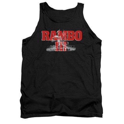 Rambo III John Black Tank Top