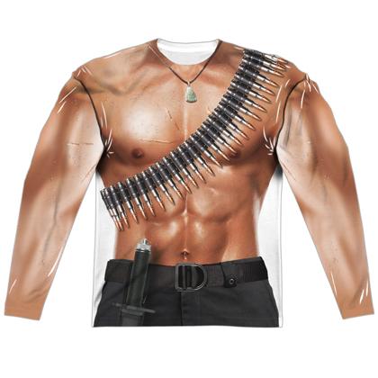 Rambo Long Sleeve Costume Tee