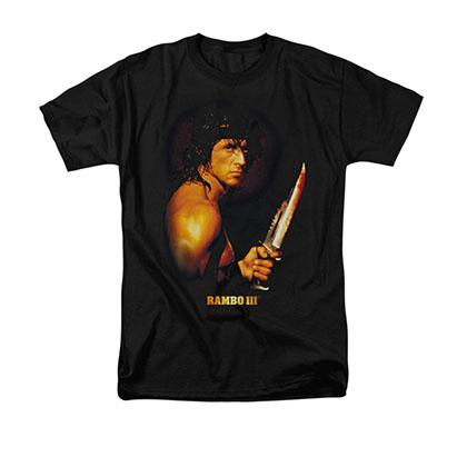 Rambo III Blood Lust Black T-Shirt