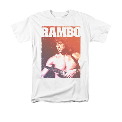 Rambo Creep White T-Shirt