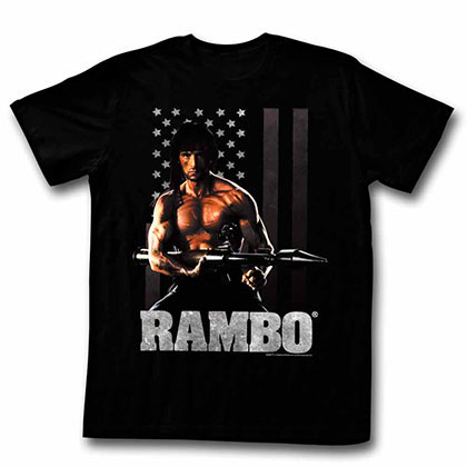 Rambo Ramberica Black TShirt
