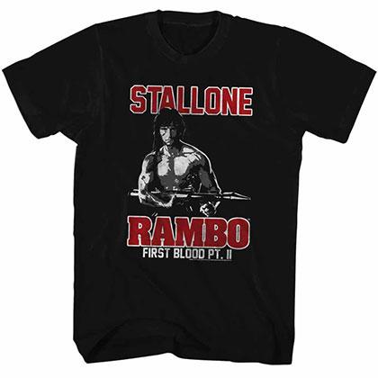 Rambo Rambo Black Tee Shirt