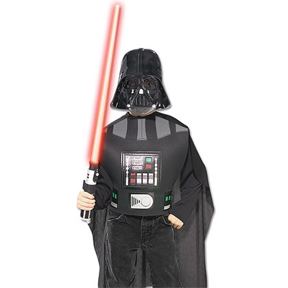Star Wars Black Darth Vader Youth Costume Kit