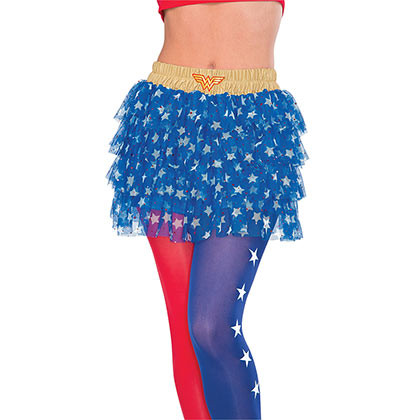 Wonder Woman Blue Women's Skirt
