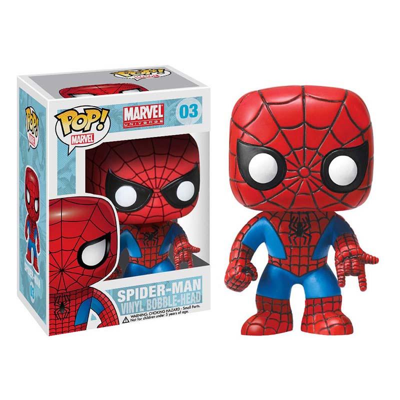 Funko Spiderman Pop Bobble Head