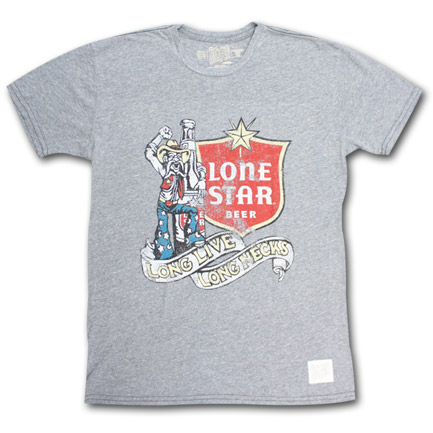 Lone Star Beer Long Live Long Necks Vintage Men S Shirt