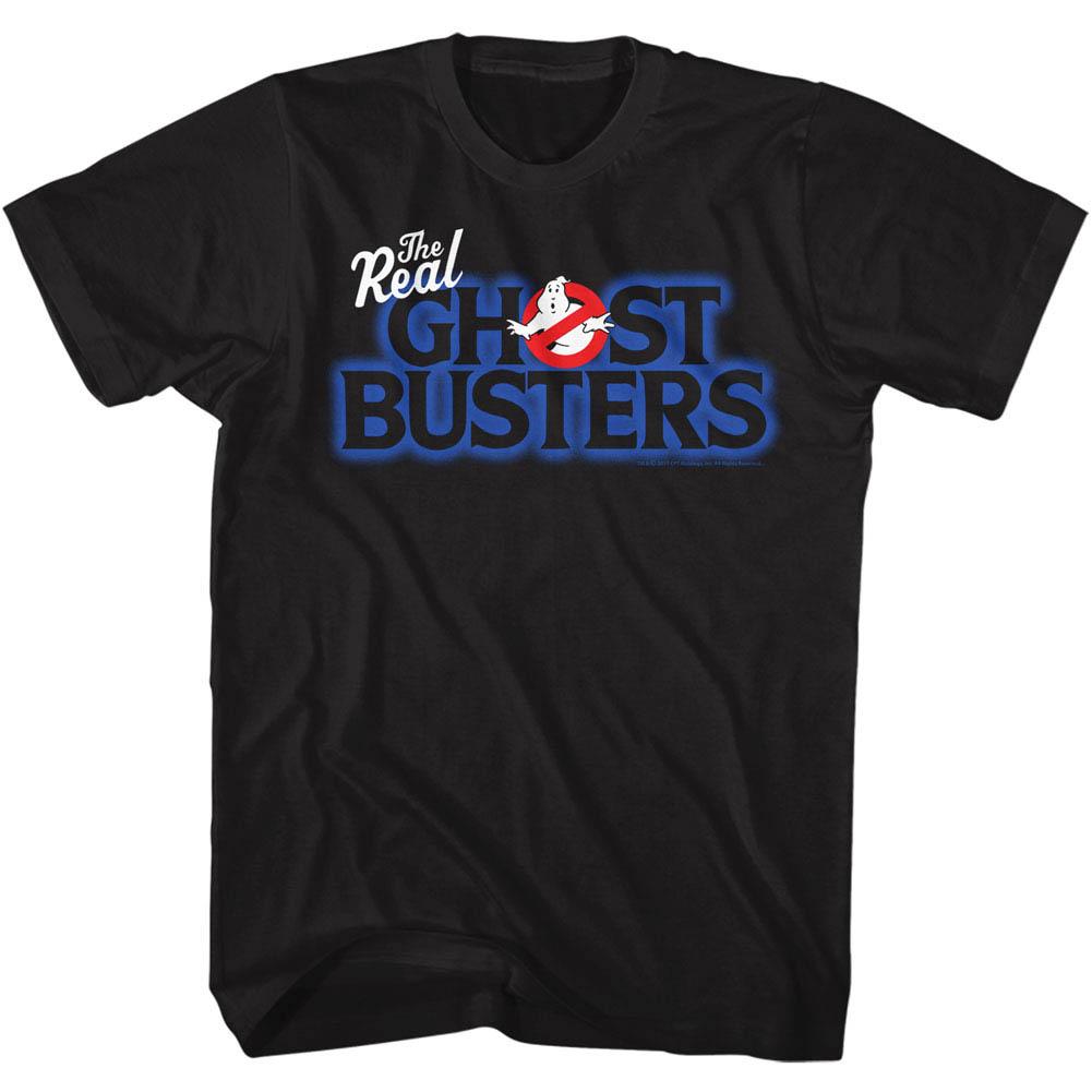Ghostbusters Blue Logo Tshirt