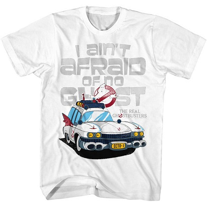 Ghostbusters I Aint Afraid Of No Ghosts Tshirt