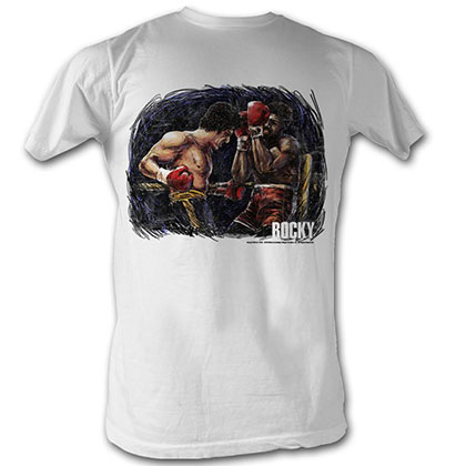 Rocky Rocky Vs. Apollo Painting T-Shirt