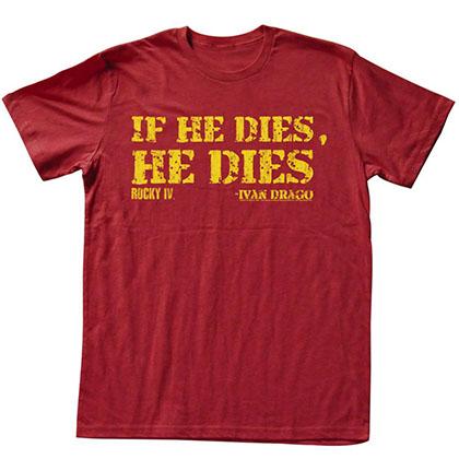 Rocky Die T-Shirt