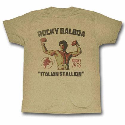 Rocky Stallion Beige Tee Shirt