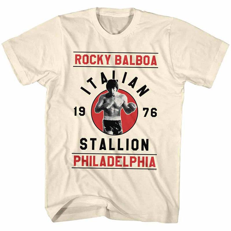 Rocky Rocky Balboa Off White TShirt