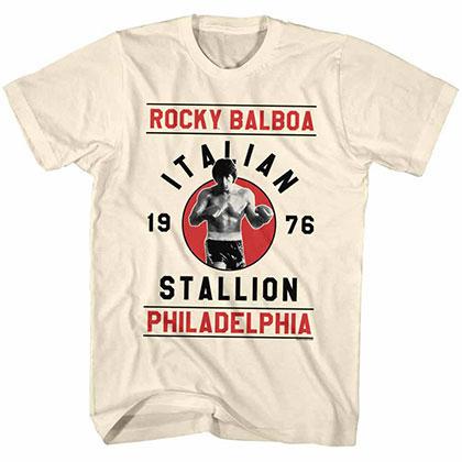Rocky Rocky Balboa Off White Tee Shirt
