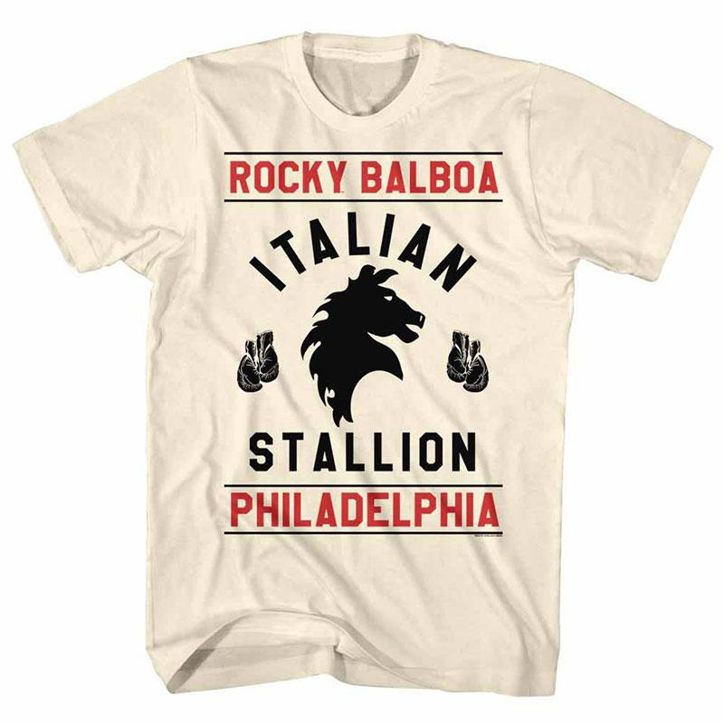 Rocky Rocky Gloves Off White TShirt