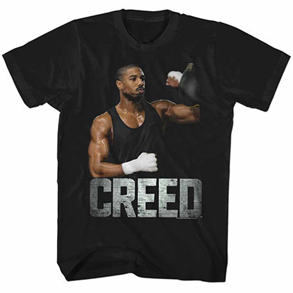 Rocky Creed Black Tee Shirt