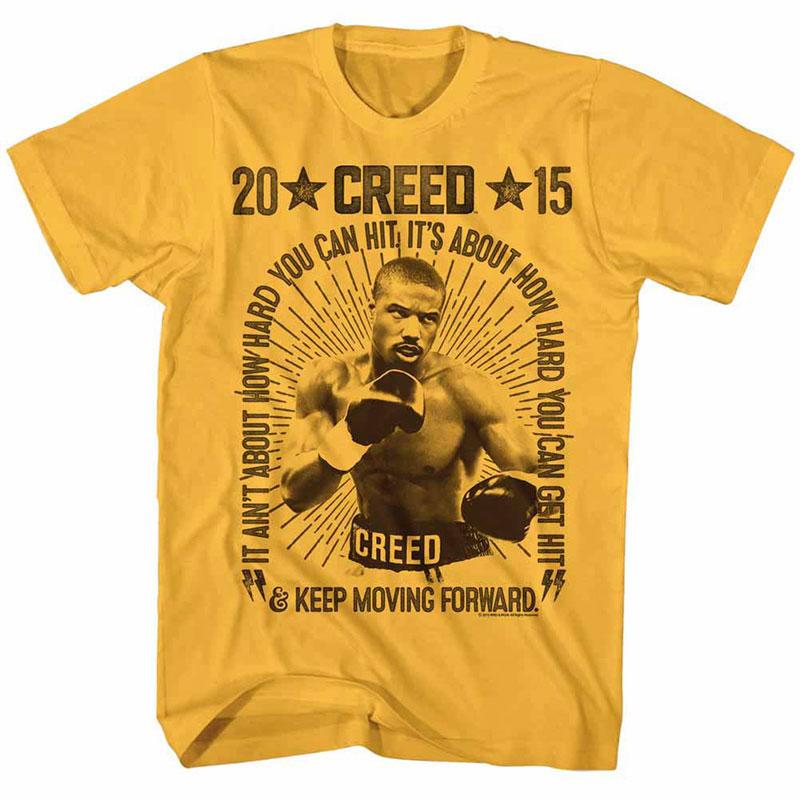 Rocky Vintage Boxing Yellow TShirt
