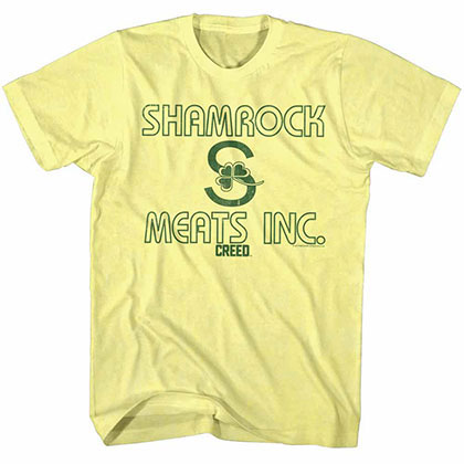 Rocky Meats Inc. Yellow Tee Shirt