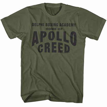Rocky Apollo Home Green Tee Shirt