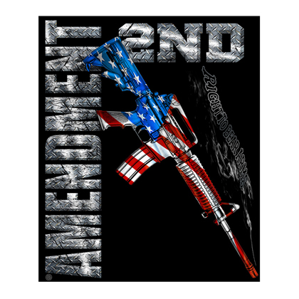 Second Amendment 50x60 Fleece Blanket