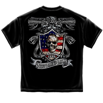 Patriotic 2nd Amendment Don't Tread On Me Tshirt