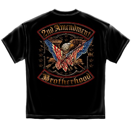 Patriotic 2nd Amendment Brotherhood Tshirt