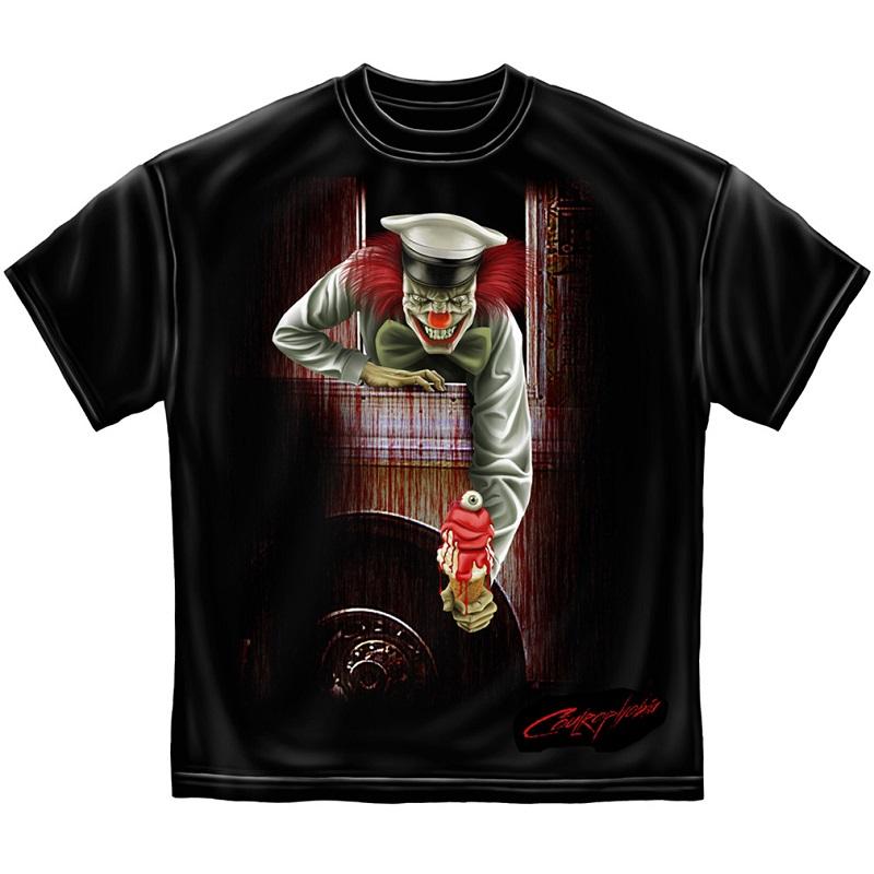 IT Evil Clown Ice Cream Truck Tshirt