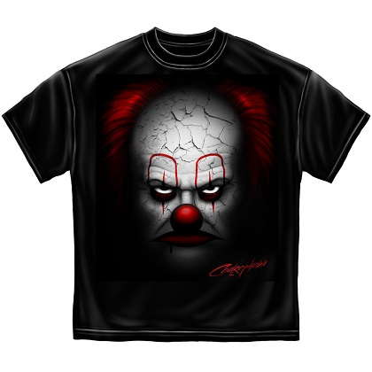 IT Evil Clown Tshirt