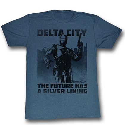 Robocop Silver Lining T-Shirt