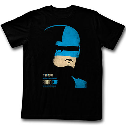 Robocop Minimal T-Shirt