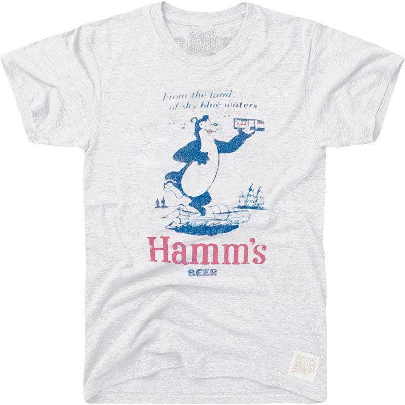Retro Brand Hamm's Land of Blue Waters Tshirt