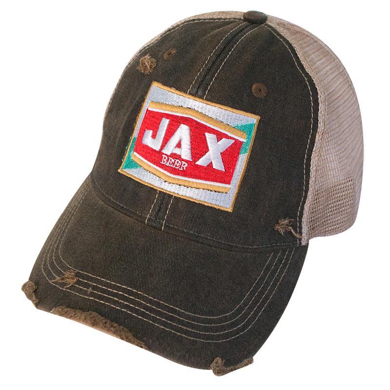 Jax Beer Distressed Trucker Hat baf0f364ba2
