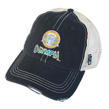 Olympia Beer Distressed Trucker Hat