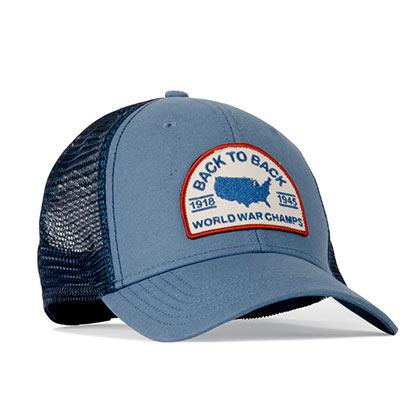 Rowdy Gentleman Back to Back World War Champs Men's Trucker Hat