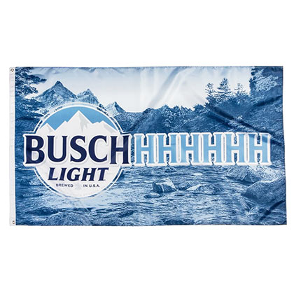 Buschhhhhhh Light Banner Flag