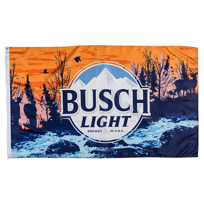 Busch Light Hikers Flag