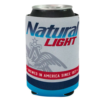 Natural Light Brewed In America Can Cooler