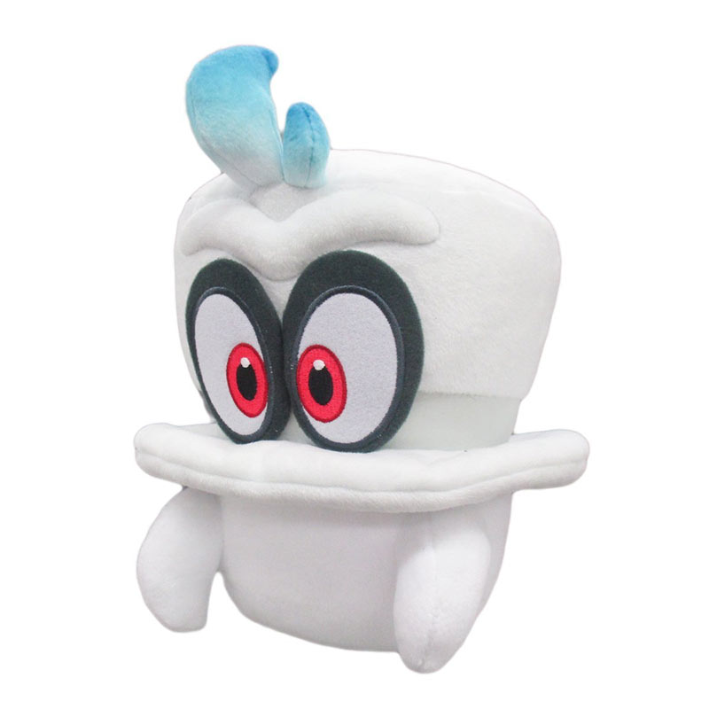 Super Mario Bros. Odyssey White Cappy Plush Doll