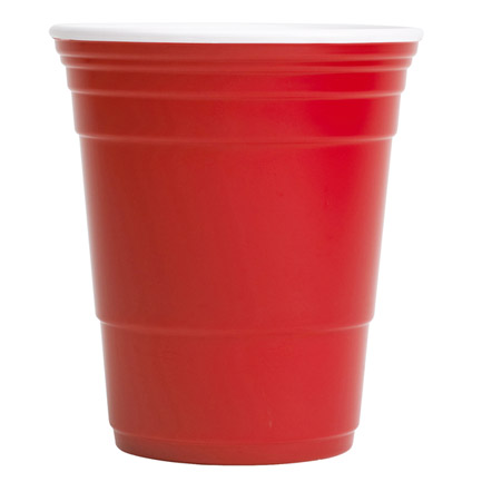 18 oz Reusable Icon Red Cup
