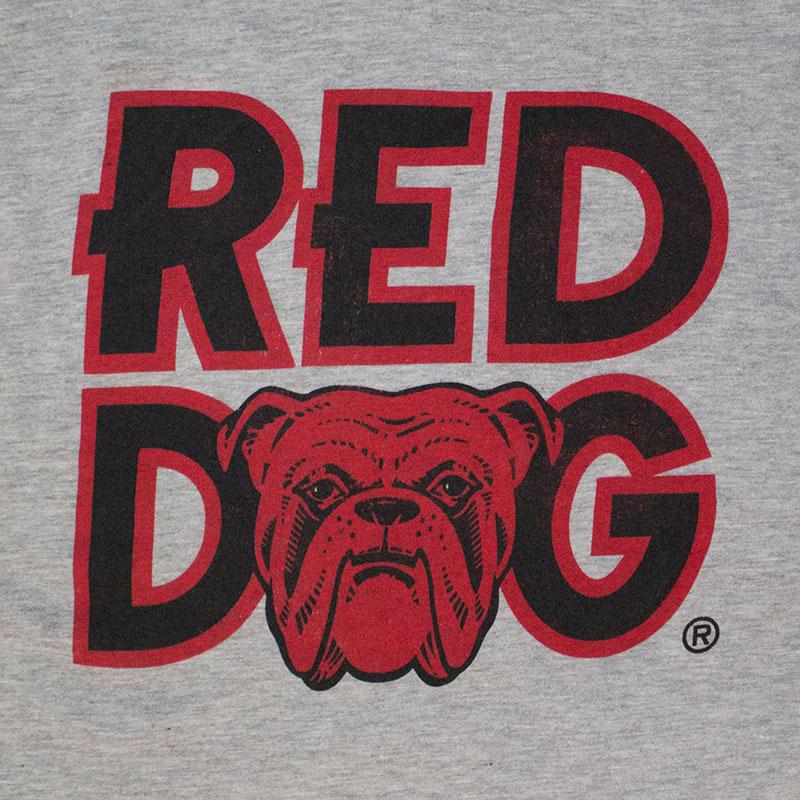 58d3cfae Red Dog Classic Logo Men's Grey T-Shirt